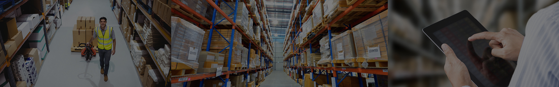 Warehousing, configuration, logistics